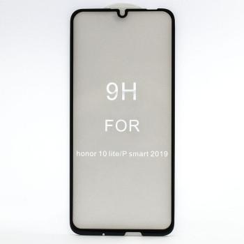 Защитное стекло Full Screen Full Glue 5D Tempered Glass для Huawei P Smart 2019 / Honor 10 lite, Black