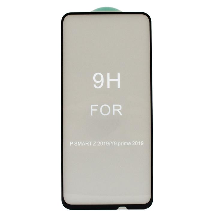 Защитное стекло Full Screen Full Glue 5D Tempered Glass для Huawei P Smart Z, Black