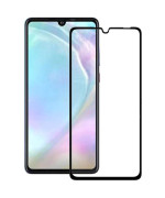 Захисне скло 2.5D Full Screen Tempered Glass для Huawei P30 Lite, Black