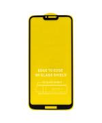 Защитное стекло Full Screen Full Glue 6D Tempered Glass для Motorola G7 Power, Black
