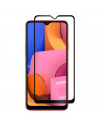 Загартоване захисне скло Full Screen Tempered Glass для Samsung Galaxy A20s, Black