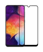 Защитное стекло 2.5D Full Screen Tempered Glass для Samsung Galaxy A20 (A205), Black