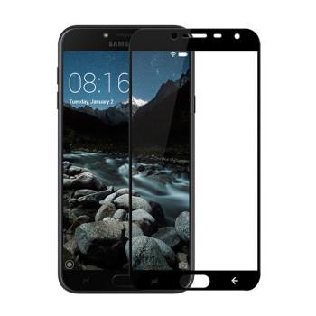 Защитное стекло 2.5D Full Screen Tempered Glass для Samsung Galaxy J400 (J4 2018) black