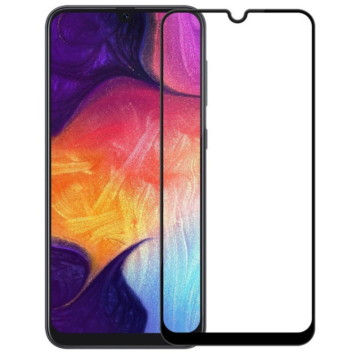 Защитное стекло 2.5D Full Screen Tempered Glass для Samsung Galaxy M30, Black