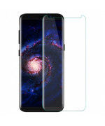 Захисне скло 3D Tempered Glass UV для Samsung N960 Galaxy Note 9 з клеєм і лампою, Transparent