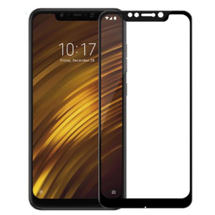 Закаленное защитное стекло Full Screen для Xiaomi Pocophone F1 black