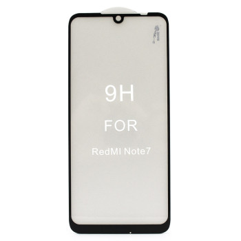 Захисне скло Full Screen Full Glue 5D Tempered Glass для Xiaomi Redmi Note 7, Black