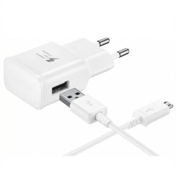 Мережевий зарядний пристрій для Samsung USB 2A Micro 1м