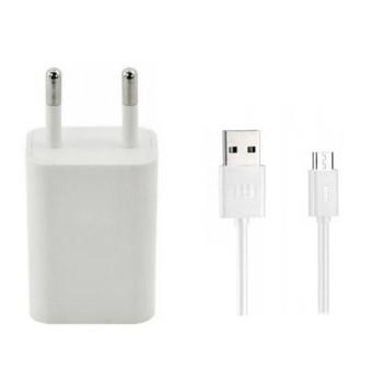 Мережевий зарядний пристрій для Xiaomi USB 2A Micro 1м