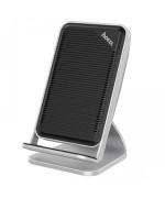 Безпровідний зарядний пристрій Hoco CW11 QC 3.0 для смартфонів зі стандартом QI, Steel