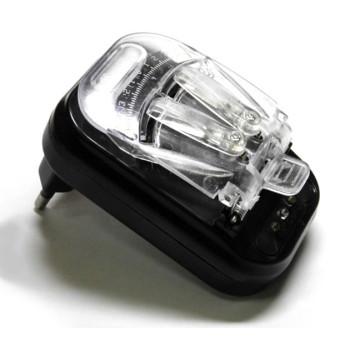 Універсальний зарядний пристрій для мобільних акумуляторів Black